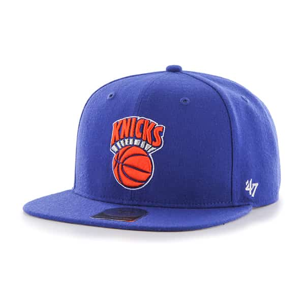 New York Knicks No Shot Captain Royal 47 Brand YOUTH Hat