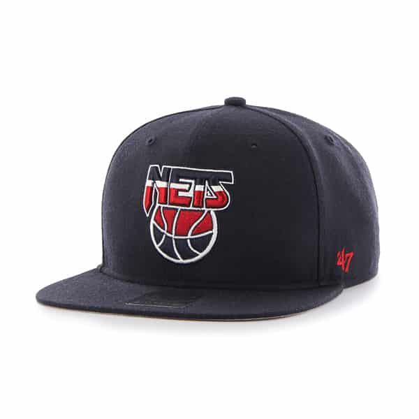 Brooklyn Nets No Shot Captain Navy 47 Brand Adjustable Hat