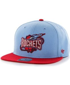 Houston Rockets No Shot Two Tone Captain Periwinkle 47 Brand Adjustable Hat