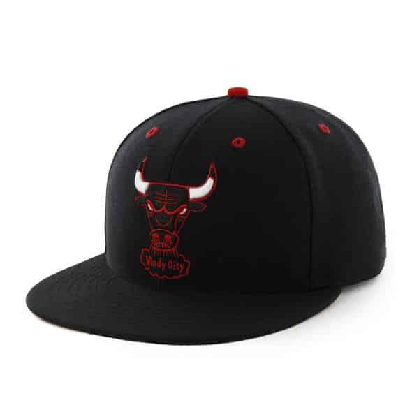 Chicago Bulls Oath Black 47 Brand YOUTH Hat