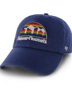 Denver Nuggets Clean Up Royal 47 Brand Adjustable Hat