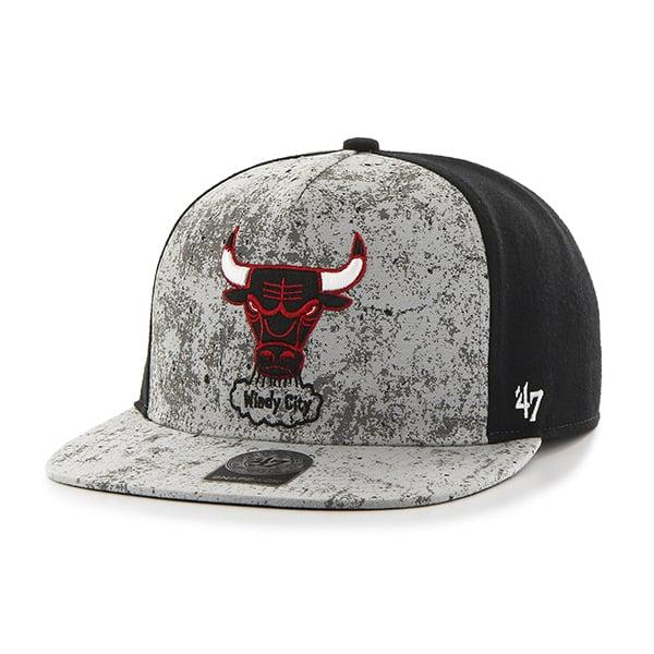 Chicago Bulls Rylander Captain Dt Black 47 Brand Adjustable Hat