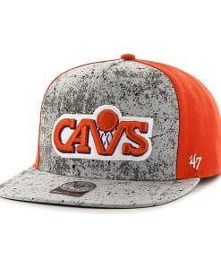 Cleveland Cavaliers Rylander Captain Dt Orange 47 Brand Adjustable Hat