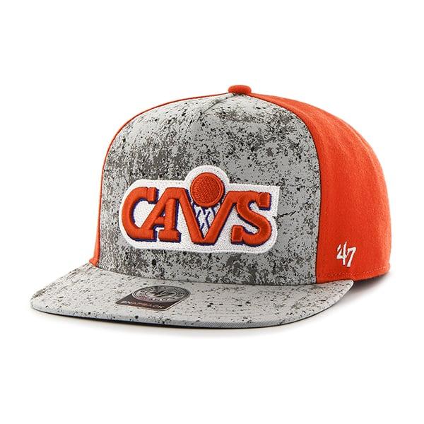 Cleveland Cavaliers Rylander Captain Dt Orange 47 Brand Adjustable Hat
