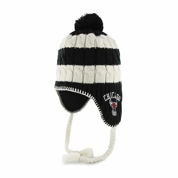 Chicago Bulls Sherpette Black 47 Brand Womens Hat