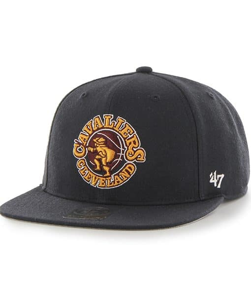 Cleveland Cavaliers Sure Shot Navy 47 Brand Adjustable Hat