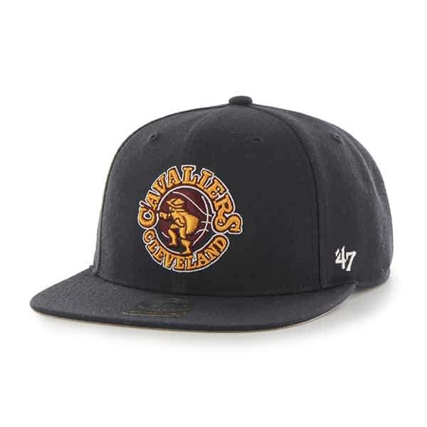 Cleveland Cavaliers Sure Shot Navy 47 Brand Adjustable Hat