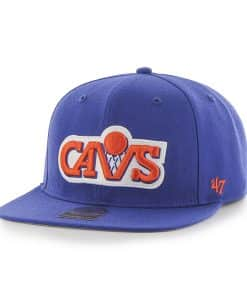Cleveland Cavaliers Sure Shot Royal 47 Brand Adjustable Hat