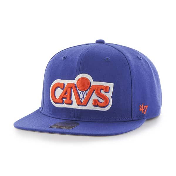 Cleveland Cavaliers Sure Shot Royal 47 Brand Adjustable Hat