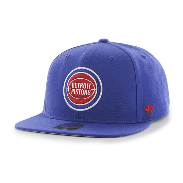 Detroit Pistons Sure Shot Royal 47 Brand Adjustable Hat
