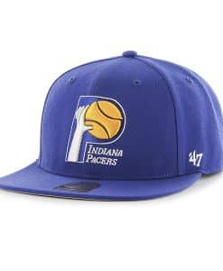 Indiana Pacers Sure Shot Royal 47 Brand Adjustable Hat