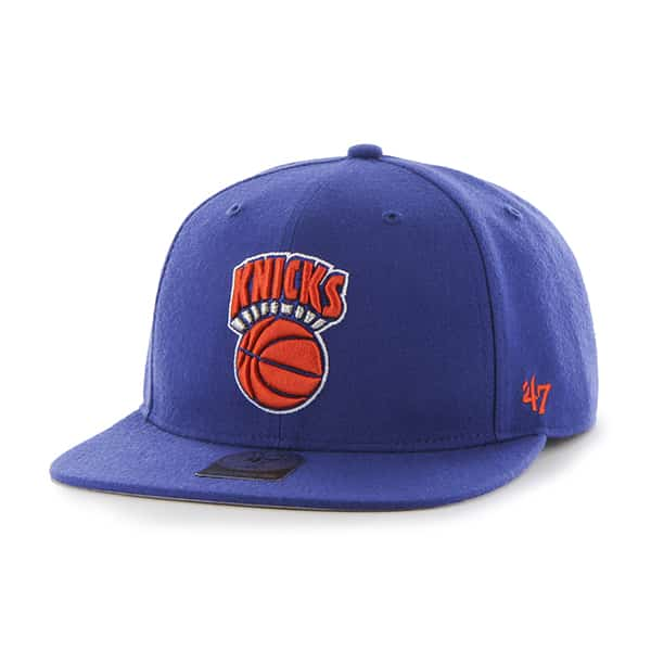 New York Knicks Sure Shot Royal 47 Brand Adjustable Hat