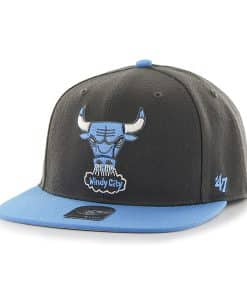 Chicago Bulls Sure Shot Two Tone Captain Charcoal 47 Brand Adjustable Hat