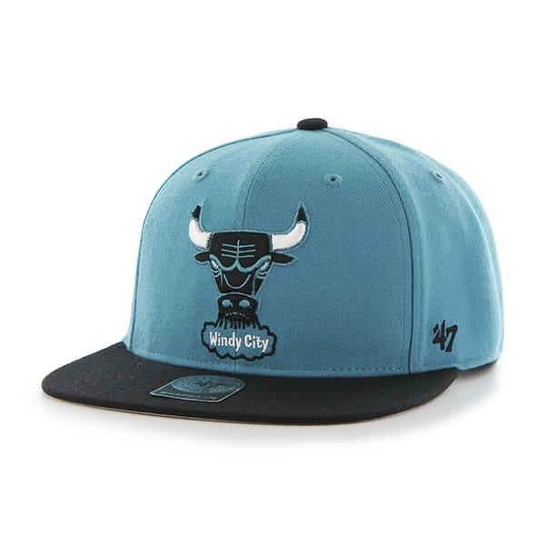 Chicago Bulls Sure Shot Two Tone Captain Neptune 47 Brand Adjustable Hat
