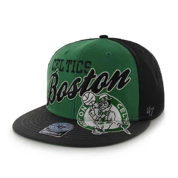 Boston Celtics The General Black 47 Brand Adjustable Hat