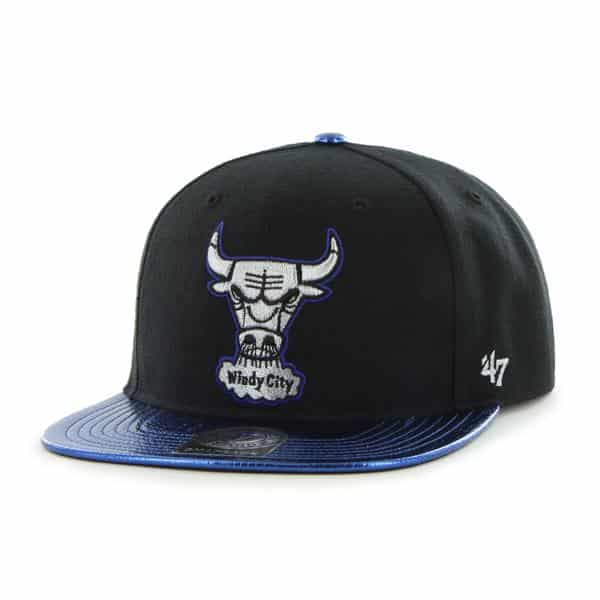 Chicago Bulls Tragic Ride Black 47 Brand Adjustable Hat