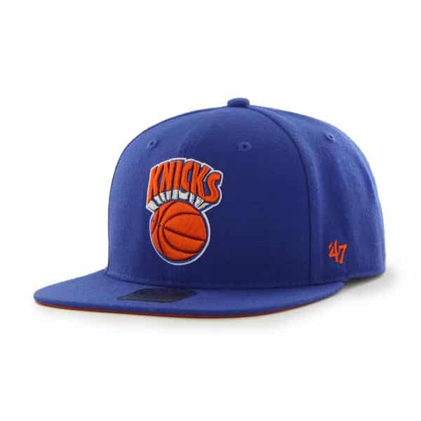 New York Knicks The Shaft Royal 47 Brand Adjustable Hat