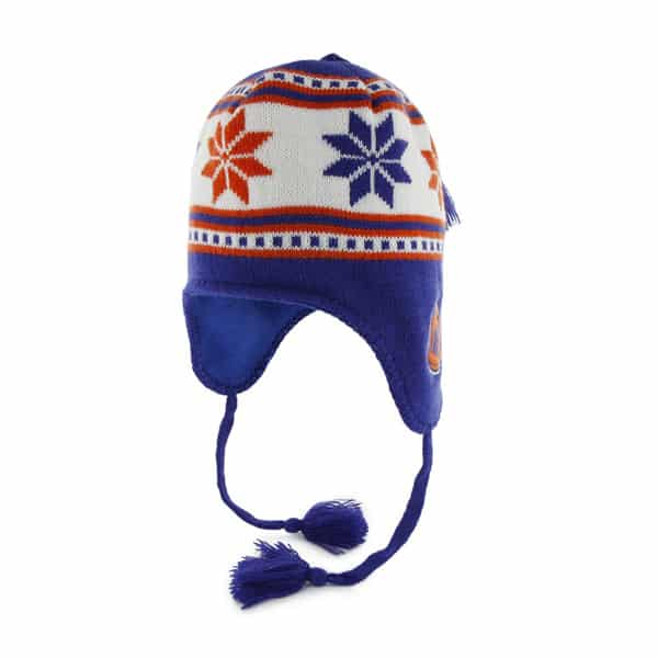 New York Knicks Wampa Knit Royal 47 Brand Adjustable Hat