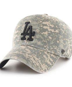 Los Angeles Dodgers 47 Brand Digital Camo Clean Up Adjustable Hat