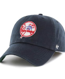 New York Yankees 47 Brand Cooperstown Navy Franchise Fitted Hat