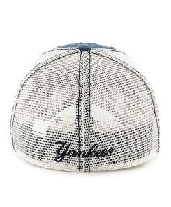 New York Yankees Dyer Rockford Mesh Stretch Fit Hat Back