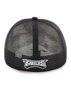 Philadelphia Eagles Mckinley Closer Black 47 Brand Stretch Fit Hat