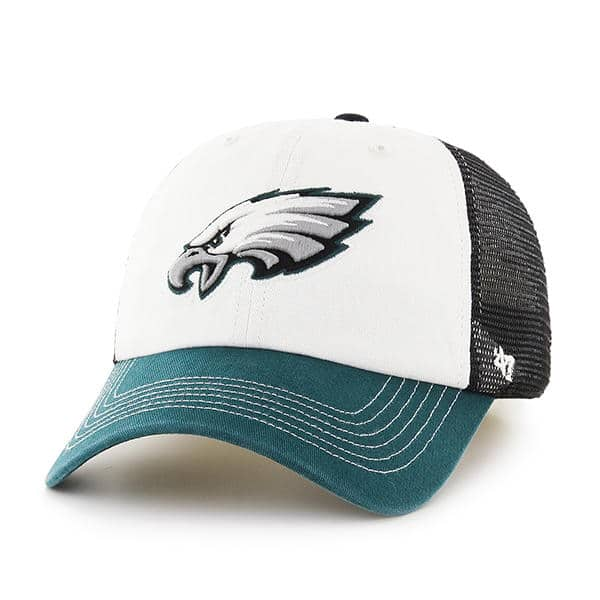 ef7720a10 Philadelphia Eagles Mckinley Closer Black 47 Brand Stretch Fit Hat -  Detroit Game Gear
