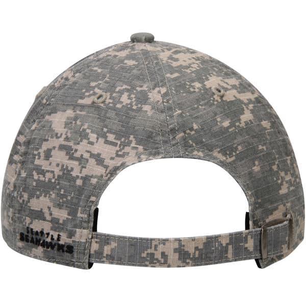 8c77291e Seattle Seahawks Officer Digital Camo 47 Brand Adjustable Hat - Detroit  Game Gear