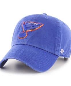 St. Louis Blues 47 Brand Vintage Blue Clean Up Adjustable Hat