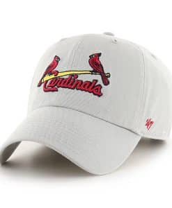 St. Louis Cardinals 47 Brand Gray Clean Up Adjustable Hat
