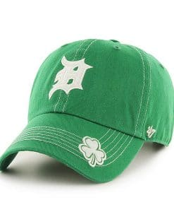 Detroit Tigers 47 Brand St Patty's Fatty Green Adjustable Hat
