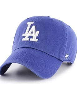 Los Angeles Dodgers 47 Brand Women's Home Clean Up Adjustable Hat