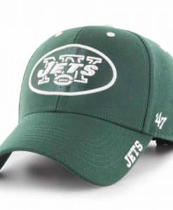 New York Jets 47 Brand Green Defrost MVP Adjustable Hat