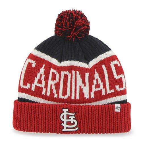 St. Louis Cardinals 47 Brand Red Calgary Cuff Knit Hat