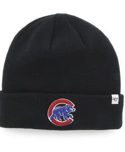 Chicago Cubs 47 Brand Navy Raised Cuff Knit Hat