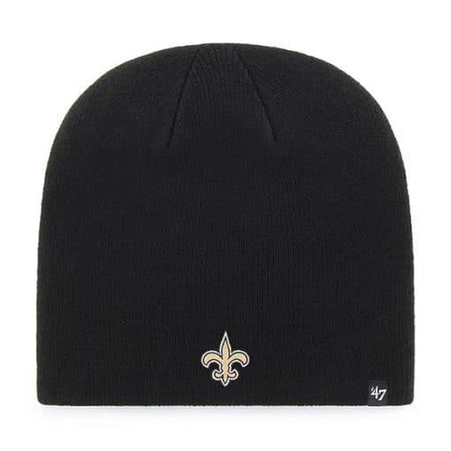 New Orleans Saints 47 Brand Black Knit Beanie Hat