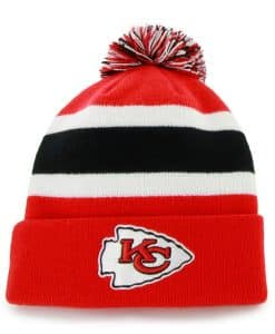 Kansas City Chiefs 47 Brand Torch Red Breakaway Cuff Knit Hat