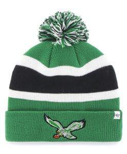 Philadelphia Eagles 47 Brand Green Classic Breakaway Cuff Knit Hat