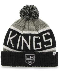 Los Angeles Kings 47 Brand Gray Calgary Cuff Knit Hat
