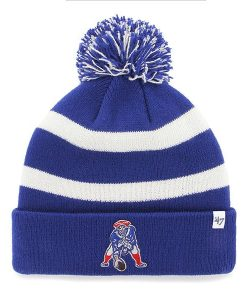 New England Patriots 47 Brand Breakway Blue Cuff Knit Hat