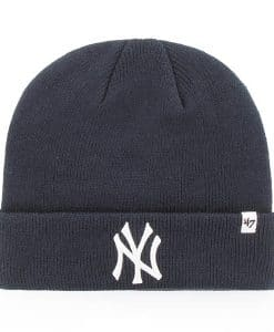 New York Yankees Raised Cuff Knit Navy 47 Brand Hat