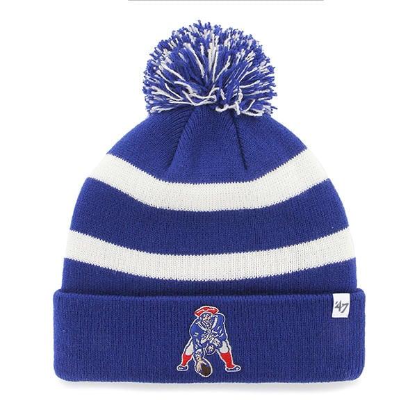 New England Patriots 47 Brand Breakway Blue Cuff Knit Hat