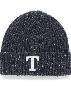 Texas Rangers Back Bay Cuff Knit Navy 47 Brand Hat