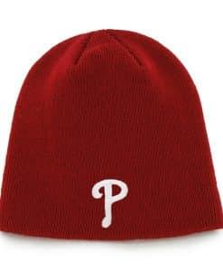 Philadelphia Phillies Beanie Red 47 Brand Hat