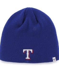 Texas Rangers Beanie Royal 47 Brand Hat