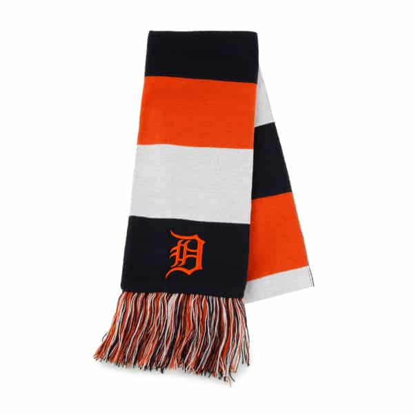 Detroit Tigers Baker Scarf Navy 47 Brand