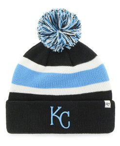 Kansas City Royals 47 Brand Black Breakaway Cuff Knit Hat