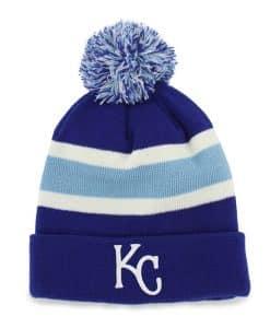 Kansas City Royals Breakaway Cuff Knit Royal 47 Brand Hat