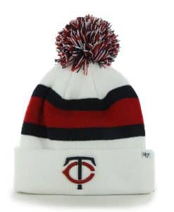 Minnesota Twins Breakaway Cuff Knit White 47 Brand Hat