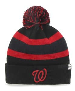 Washington Nationals Breakaway Cuff Knit Black 47 Brand Ha